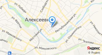 Детский сад Комбинированного Вида № 7 г. Алексеевка Белгородской области на карте