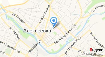 Управление ПФР в Алексеевском р-не и г. Алексеевка на карте