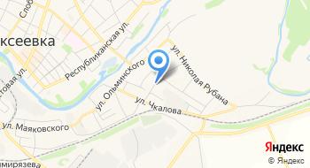 Детский сад Комбинированного Вида № 15 г. Алексеевка Белгородской области на карте