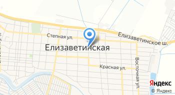 Универсам Станица на карте