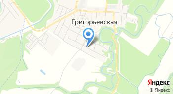 Северское ВОА на карте