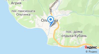 Жемчужина черного моря на карте