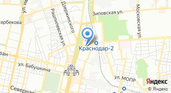 ГУ МВД России по Краснодарскому краю на карте