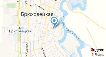 Брюховецкие Новости, ГУП на карте