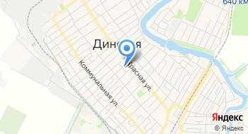 Вневедомственная охрана Динского района Краснодарская Края на карте