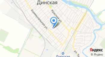 Труженик, КФХ на карте
