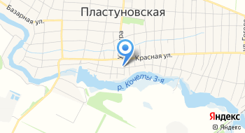 Отделение СМП Буз МО Динской район ЦРБ,пост ст. Пластуновская на карте