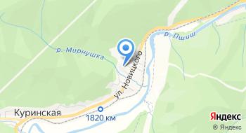 Комель на карте