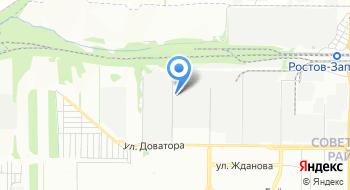Шины Кубани на карте
