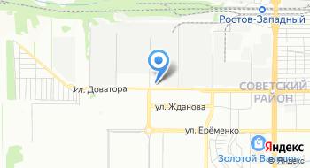 Управление ГИБДД ГУ МВД России по Ростовской области на карте
