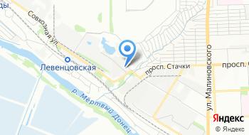 Нивоводы Ростовской области на карте