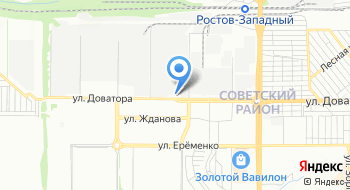 Луганьтопсервис на карте