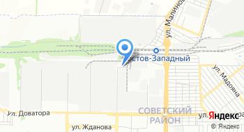 Колесный Ряд Ростов на карте