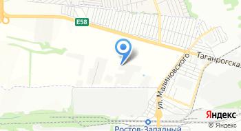 Ростовбетонстрой на карте