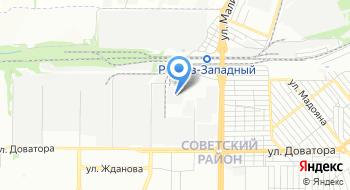 Ростовская газонаполнительная станция на карте