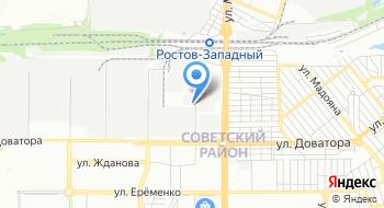 Юг-электро на карте