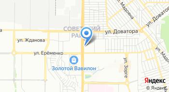Отдел ГКУ РО центр занятости неселения города Ростова-на-Дону по Советскому району на карте