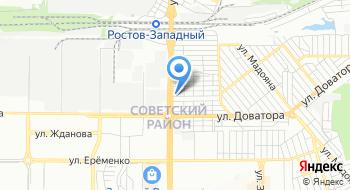 Полистар на карте