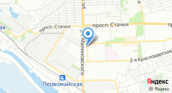 УФМС России по Ростову и РО в Советском районе на карте