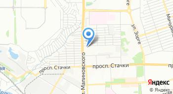 Ростовская компания на карте