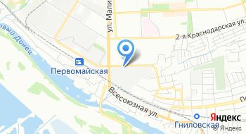 Кабинетоф Ростов-на-Дону на карте