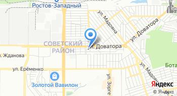 Интер связь на карте