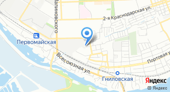 ОптЮг на карте