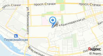 ПОУ Ростовская объединенная техническая школа РО ТСАФ России РО на карте