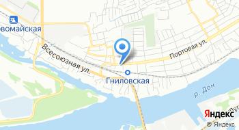 Представительство Теплоруссия в Ростове-на-Дону на карте