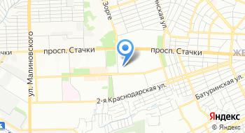 Дом для престарелых в Ростове-на-Дону на карте