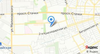 МРИ №24 террит.участок 6168 по Советскому району г.Ростова-на-Дону на карте