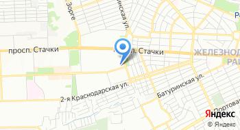 Субару-клуб Ростов-на-Дону на карте