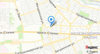 Полк Патрульно-постовой Службы Милиции г. Ростов-на-дону, УВД на карте