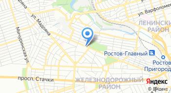 Ростовская транспортная компания на карте