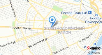 Стадион Локомотив на карте