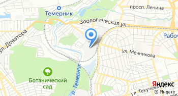 Второй кирпичный завод на карте