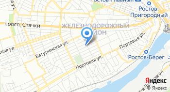Ростовское центральное проектно-конструкторское бюро Стапель на карте