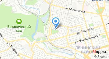 Пчеловодство-Ростов-на-дону на карте