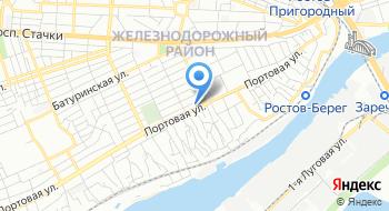 Следственное управление Следственного комитета РФ Следственный отдел по Железнодорожному району города Ростова-на-Дону на карте