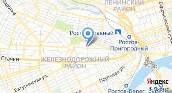 МРИ №24 террит.участок 6162 по Железнодорожному району г.Ростова-на-Дону на карте