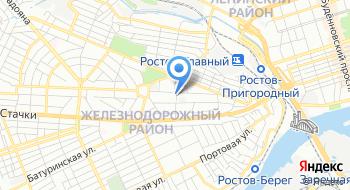 Дон-ТР, филиал на карте