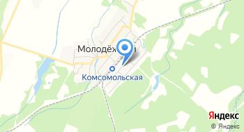 Отделение почтовой связи Молодежный 352640 на карте