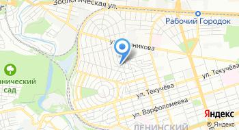 Хабаровский на карте