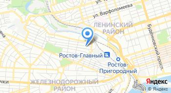Фкуз Медсанчасть 61 Фсин России на карте