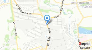 АЦ Ростов-УАЗ на карте