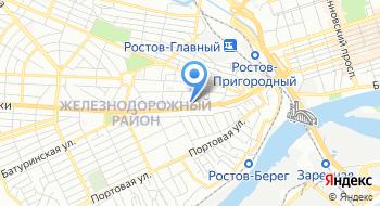 УФМС России по Ростову и РО в Железнодорожном районе на карте