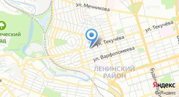 Дон хостел Ростов на карте