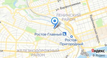 Ростовчанка на карте
