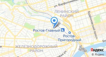 Санаторий-профилакторий Ростовского электровозоремонтного завода Филиал Желдорреммаш на карте