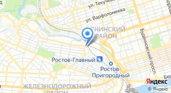 Северо-Кавказская пригородная пассажирская компания на карте